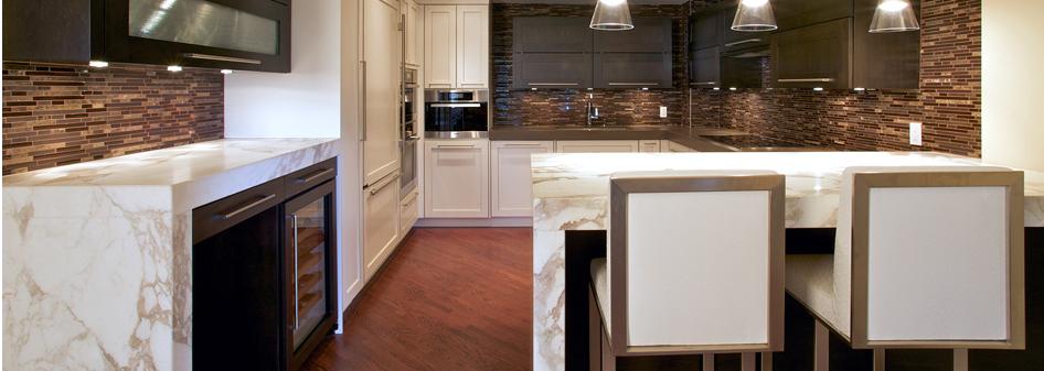 Calacatta Marble Kitchen Countertop