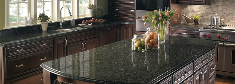 Granite Kitchen Countertop Verde